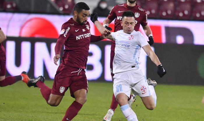 """Derby-ul etapei în Liga 1! FCSB vs. CFR sau 25,8 milioane de euro vs 24,9 milioane de euro! Cine are cel mai valoros """"11"""""""