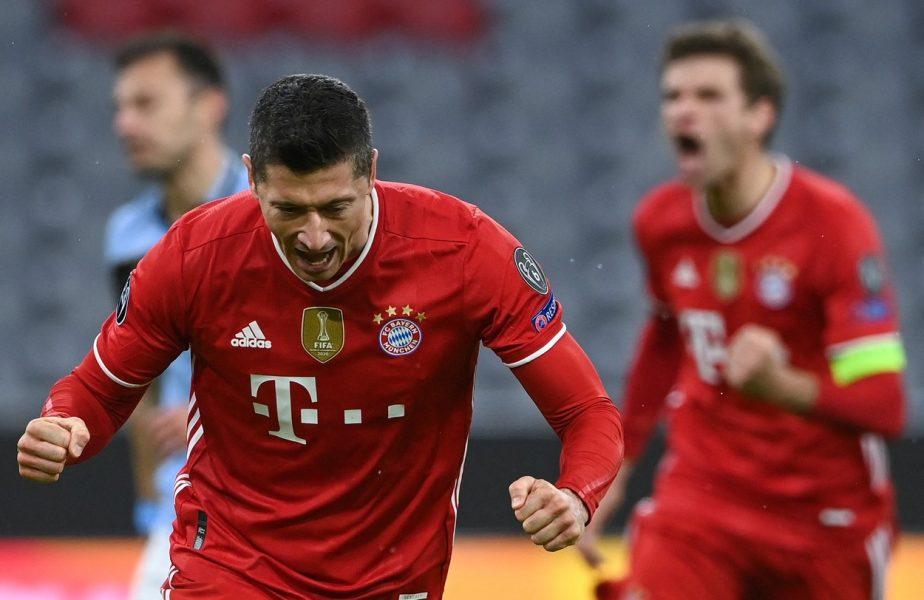 Robert Lewandowski, mașinărie de goluri! Atacantul lui Bayern, cifre uimitoare în Liga Campionilor