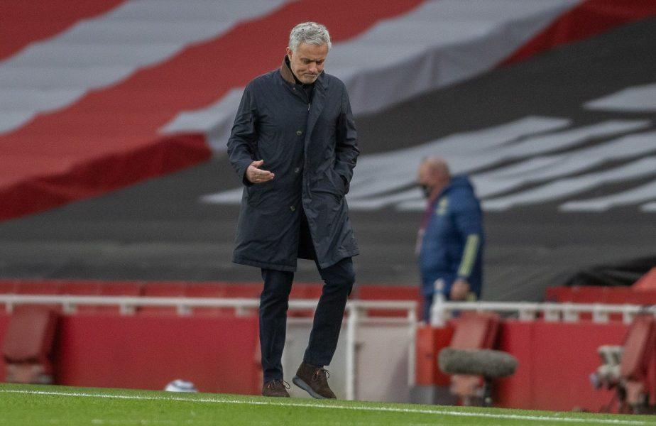 """""""The Special One"""", adus cu picioarele pe pământ! Mourinho, OUT din Europa, după Dinamo Zagreb – Tottenham 3-0. Prima reacţie a portughezului"""