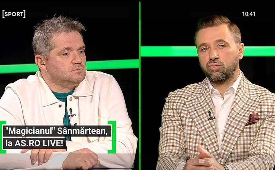 """EXCLUSIV AS.ro LIVE   Robert Lewandowski, impresionat de Lucian Sânmărtean: """"Cine e mă, ăsta?"""" A vrut să-l transfere în Germania. De ce a picat totul"""