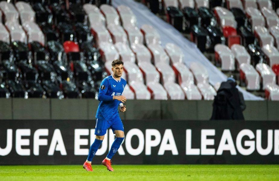 Ianis Hagi, reacţie după scandalul de la meciul dintre Rangers şi Slavia + Cristi Chivu, vedetă pentru UEFA după tragerea la sorţi
