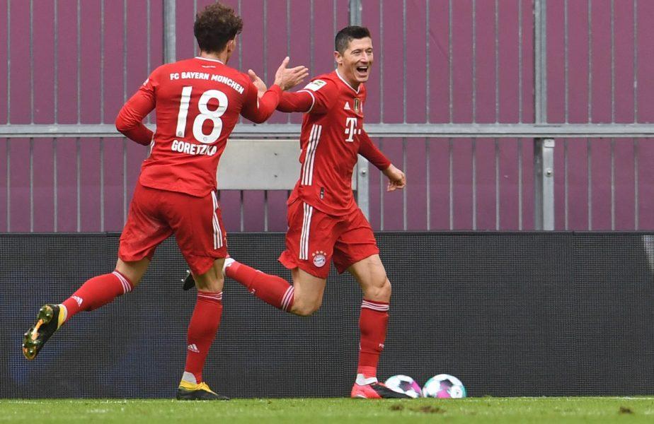 Show total în Bayern – Stuttgart. Robert Lewandowski, hat-trick în doar 21 de minute! Borna fantastică la care a ajuns starul campioanei Germaniei