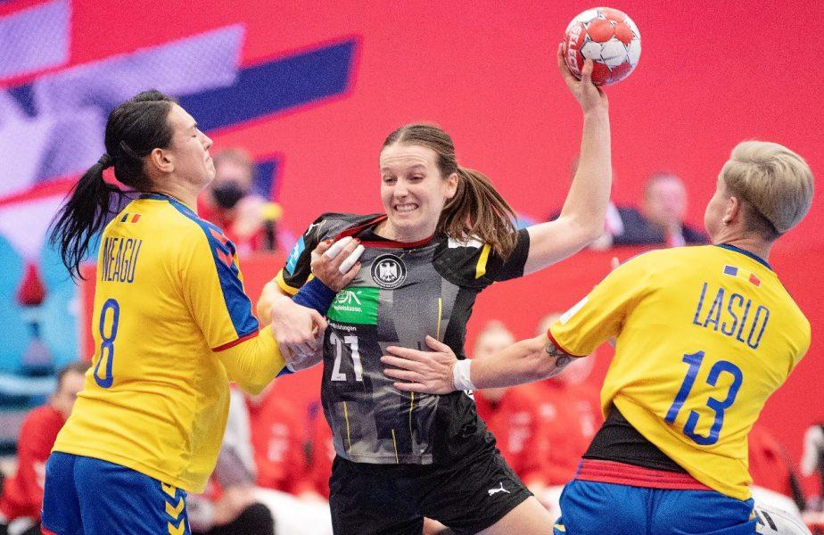 România – Muntenegru 28-25 | Tricolorele, la două goluri de calificarea la Jocurile Olimpice. Cristina Neagu a marcat de 12 ori, dar a terminat meciul în lacrimi