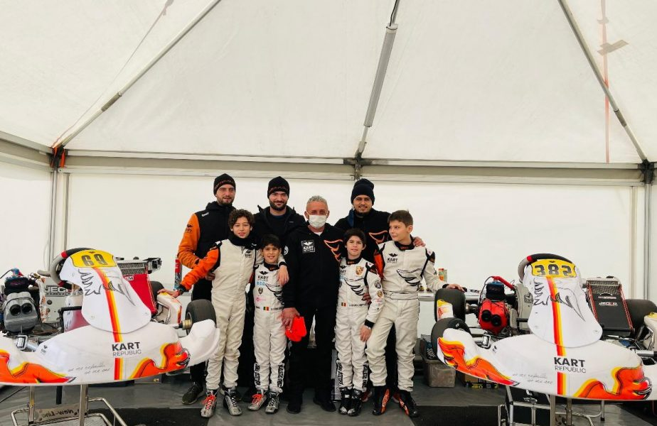 Mici, dar iuţi! România, în top la Napoli / Fenomenul nr. 1 din motorsportul din România face legea şi în ţara kartingului