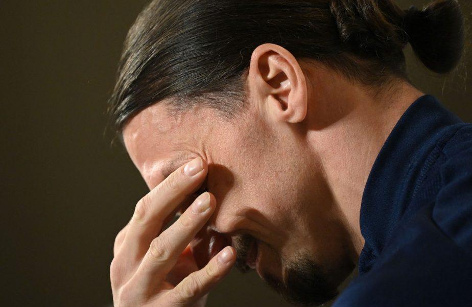 VIDEO | Zlatan Ibrahimovic a izbucnit în lacrimi la conferinţa de presă! Faţa nemaivăzută a starului suedez. Motivul pentru care s-a emoţionat la maximum