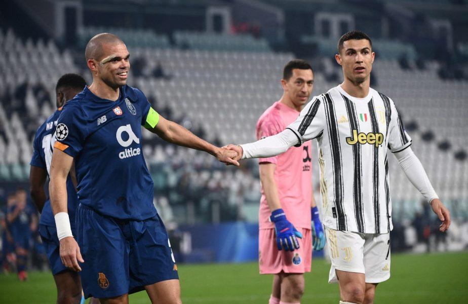 """CR7 către Pepe: """"Joacă, o să câștig cu tine pe teren!"""" Pepe către CR7: """"O să câștig și va fi cu tine pe teren!"""""""