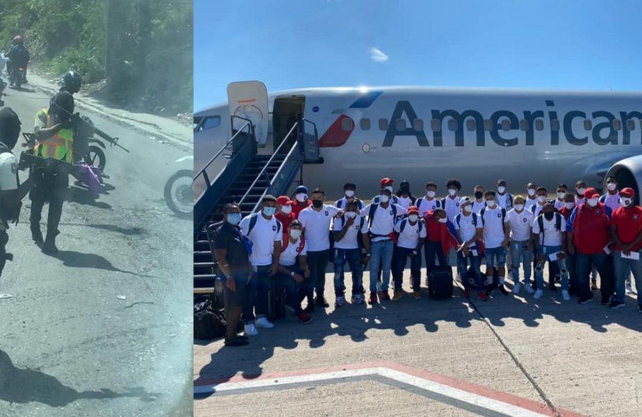 Incident şocant prin care au trecut jucătorii naţionalei din Belize înaintea meciului cu Haiti, din preliminariile CM 2022. Autocarul lor, oprit de insurgenţi înarmaţi!