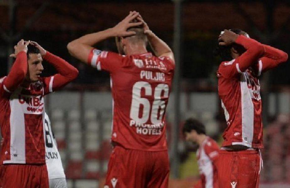 Patru titulari de la Dinamo au simptome de COVID-19! Riscă să nu facă deplasarea pentru meciul cu echipa lui Mircea Lucescu