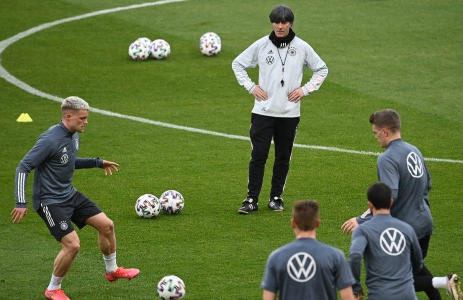 Joachim Low şi jucătorii săi