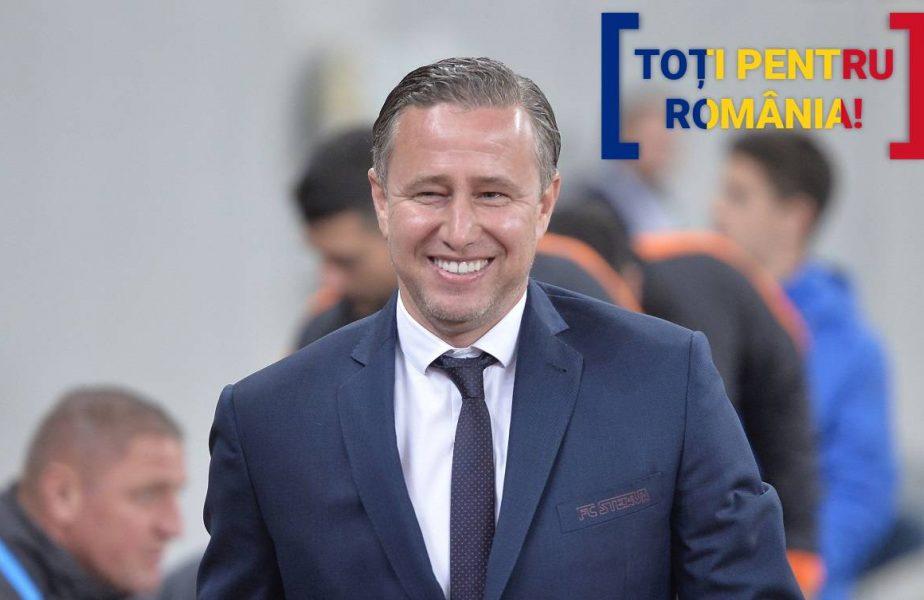TOŢI PENTRU ROMÂNIA | Laurenţiu Reghecampf nu stă pe gânduri. Cei doi jucători care nu pot lipsi din meciul România – Macedonia de Nord