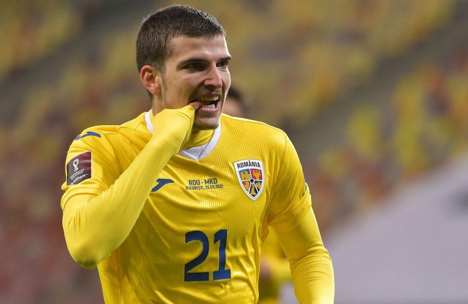 Valentin Mihăilă, execuție galactică la debutul pentru naționala mare!  Gol magnific reușit de starul român de la Parma