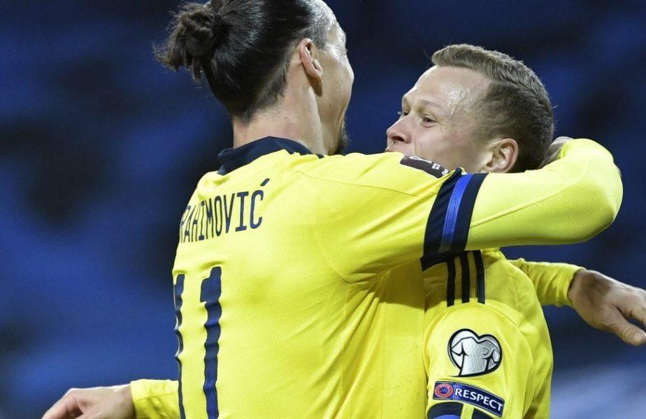 """Zlatan Ibrahimovic s-a întors după 5 ani şi a dat totul pentru Suedia. """"A fost o senzaţie incredibilă. Va fi din ce în ce mai bine"""""""