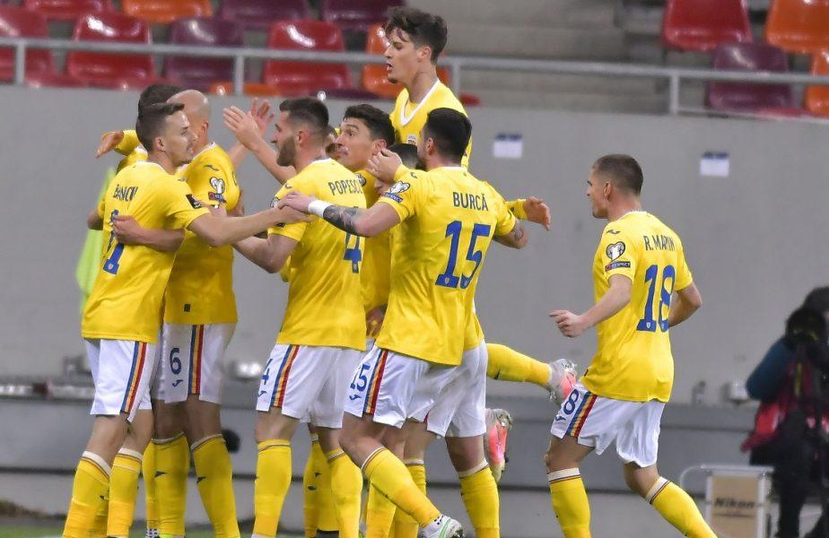 Nicuşor Bancu, echipa naţională, România - Macedonia de Nord 3-2, preliminarii CM 2022