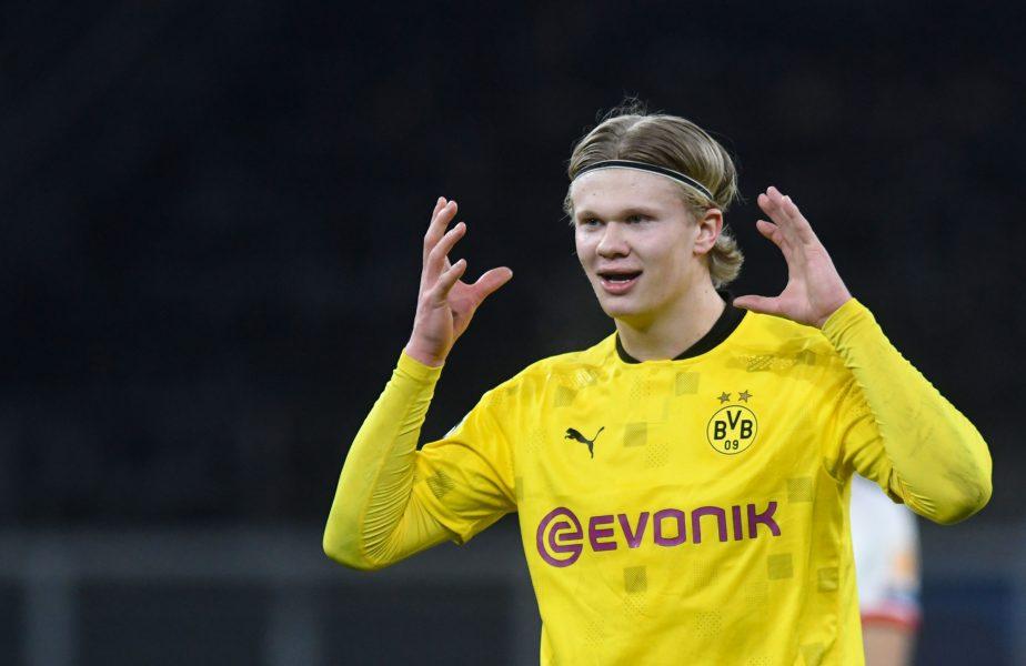 Erling Haaland poate arunca în aer piaţa transferurilor. Preţul uriaş pe care i l-a stabilit Borussia Dortmund