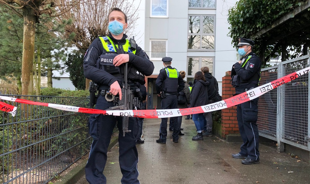 Arhivă: acţiune a Poliţiei din Hamburg