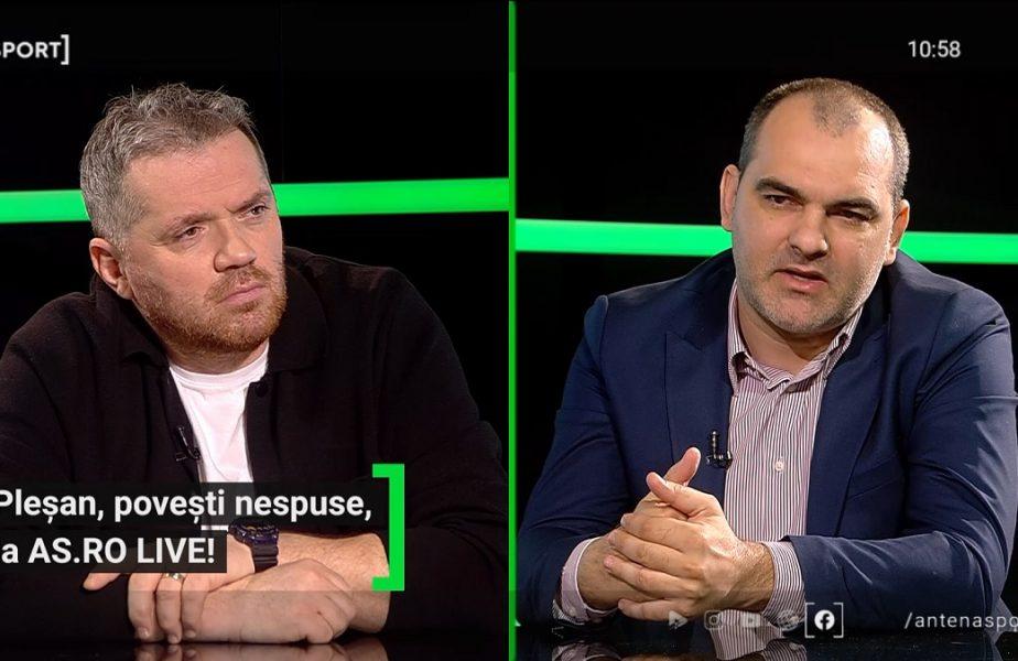 """EXCLUSIV AS.ro LIVE   Bătaie în vestiarul Stelei! """"Am spus: 'Băi, chiar aşa?!"""" Cum a fost pedepsit Pleşan de Gigi Becali şi cine l-a salvat"""