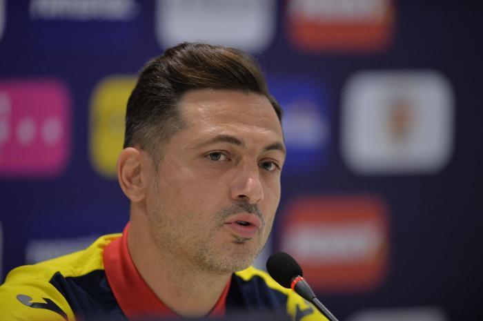 Mirel Rădoi, selecţioner România