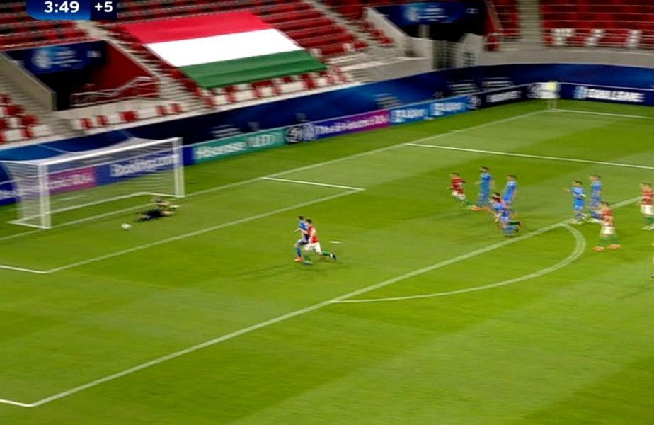 România U21 – Ungaria U21 2-1 | Andrei Vlad, paradă cât o victorie! Portarul lui FCSB a apărat excelent în prelungiri