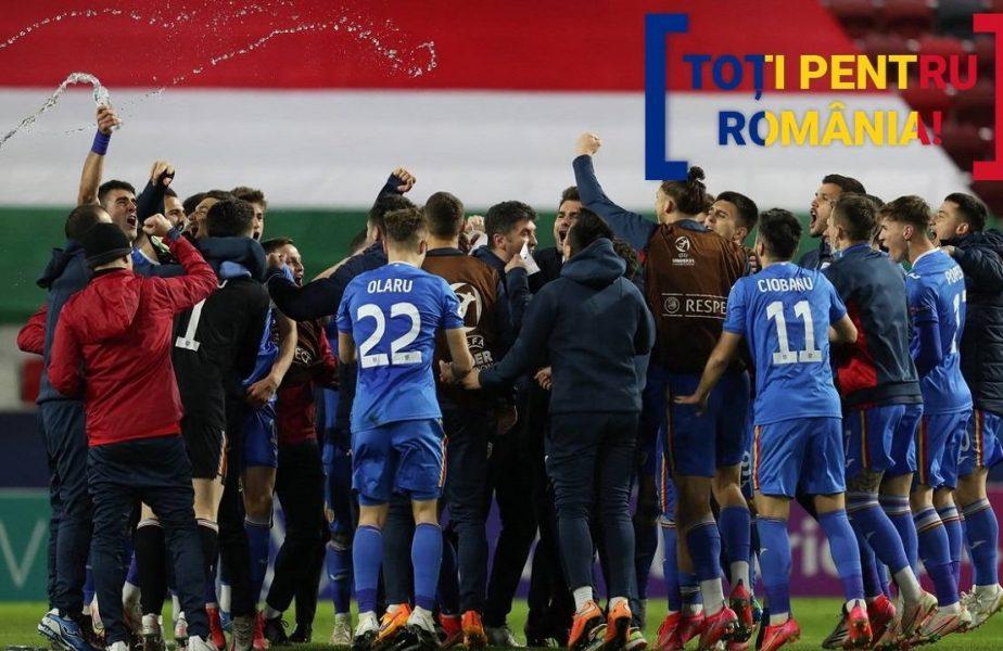 România U21 - Ungaria U21 2-1, Euro U21