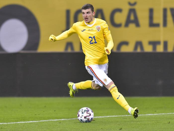 România – Germania | Valentin Mihăilă, aproape de al doilea gol la echipa naţională. Fotbalistul Parmei este în premieră titular. FOTO