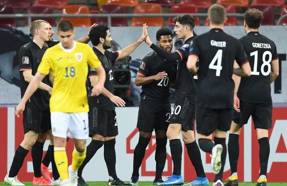 """România – Germania 0-1   Mirel Rădoi, lecţie de fotbal de la Joachim Low. Tricolorii au """"înviat"""" pe final. Suntem pe locul 4 în grupă"""