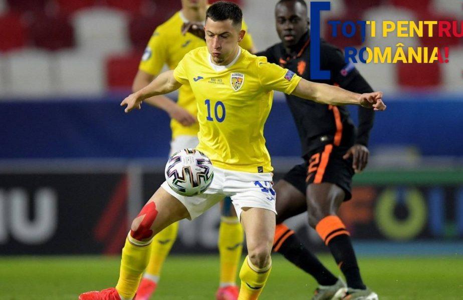 TOŢI PENTRU ROMÂNIA | Adi Mutu, mesaj de susţinere pentru Olimpiu Moruţan înaintea meciului cu Germania U21. Motivul pentru care mijlocaşul de la FCSB nu a dat randament!