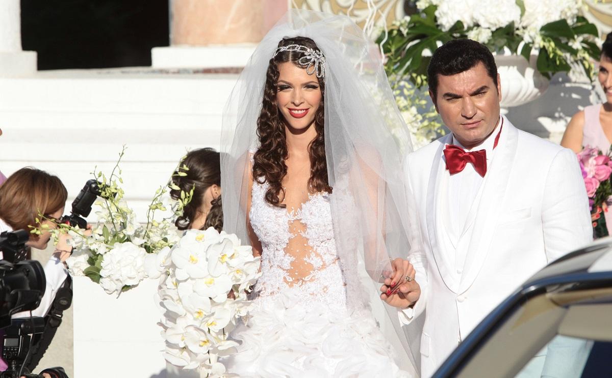 Alina Vidican şi Cristi Borcea, nuntă