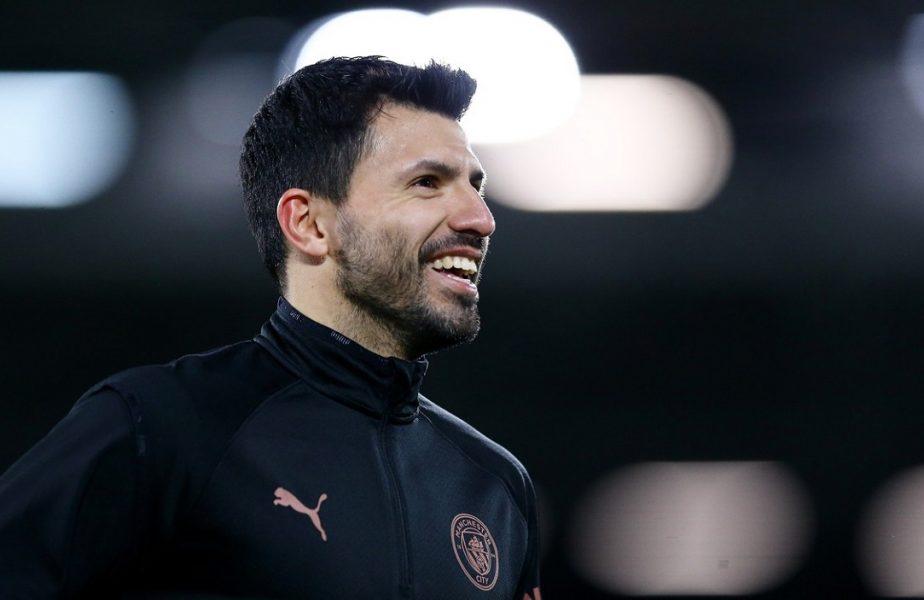 Sergio Aguero, drum liber spre Barcelona lui Messi! Atacantul va pleca de la Manchester City după 10 ani