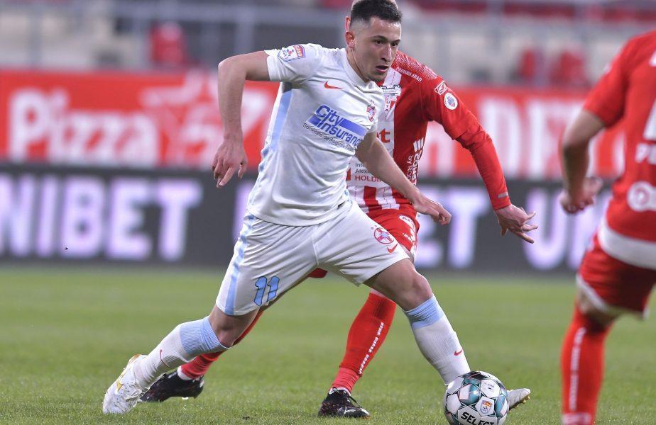 """Olimpiu Moruţan, pe urmele lui Gică Hagi. Un club uriaş îl vrea de urgenţă: """"Se vor întâlni cu şeful FCSB-ului pentru a face transferul"""""""