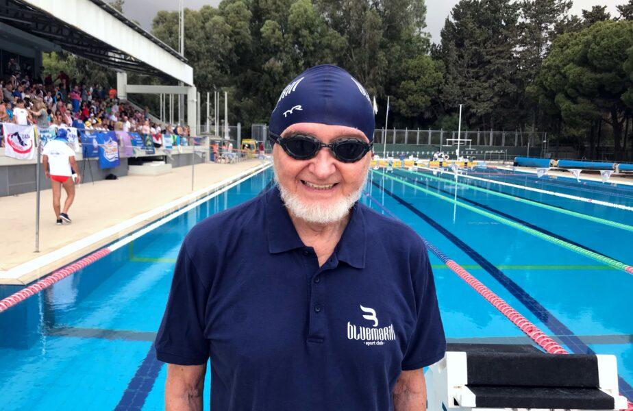 """Rechin de apă dulce la 92 de ani: """"Și eu ce fac, Camelia? Unde mai înot?"""" Merge de trei ori pe săptămână la bazin!"""