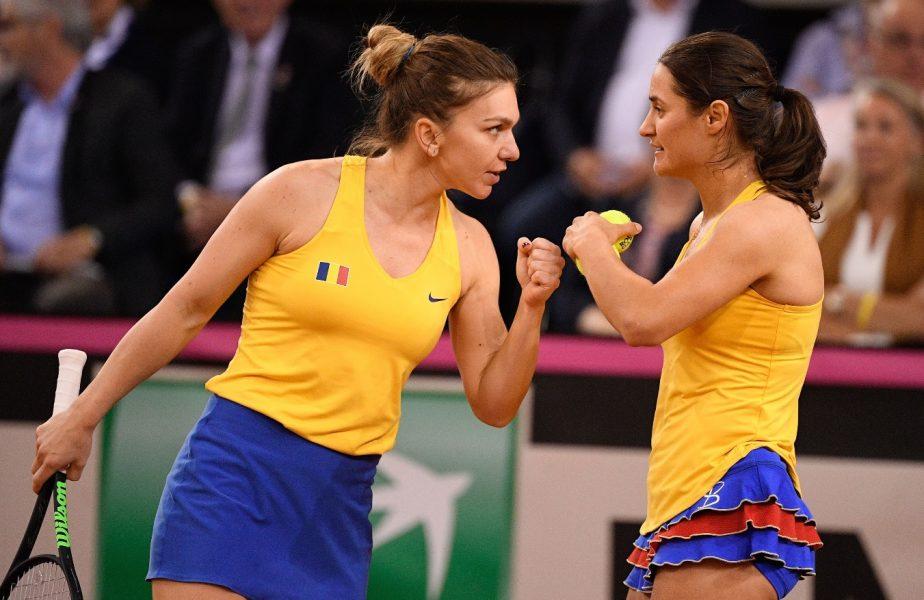 Cum a convins-o Monica Niculescu pe Simona Halep să revină la echipa de Fed Cup a României