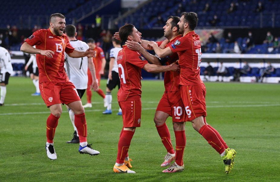 Preliminarii CM 2022 | Bombă mondială! Germania, umilită la ea acasă de Macedonia de Nord. Islanda, 4-1 în Liechtenstein. Anglia – Polonia 2-1. Franţa şi Spania au câştigat şi ele
