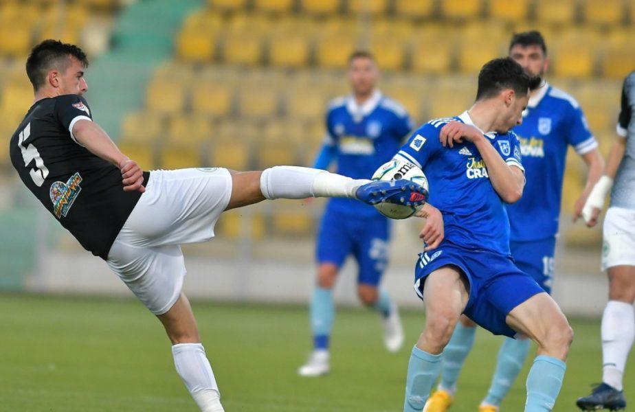 """CS Mioveni – FC """"U"""" Craiova 0-0. Remiză albă în primul meci din play-off-ul Ligii 2. Cum arată clasamentul"""