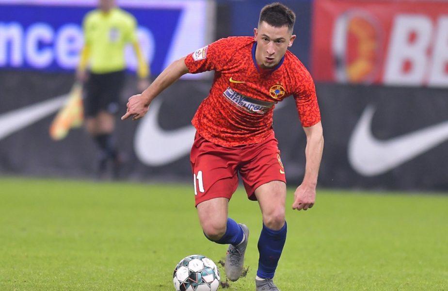 """Olimpiu Moruțan, aproape de transferul vieții! Două cluburi din Bundesliga au pornit pe urmele """"perlei"""" de la FCSB"""
