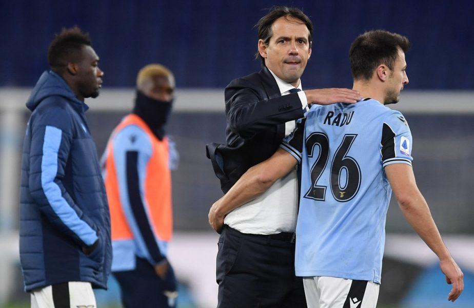 """Ştefan Radu, felicitat de Simone Inzaghi înaintea unui moment istoric: """"O merită!"""" Românul va juca meciul 402 pentru Lazio"""