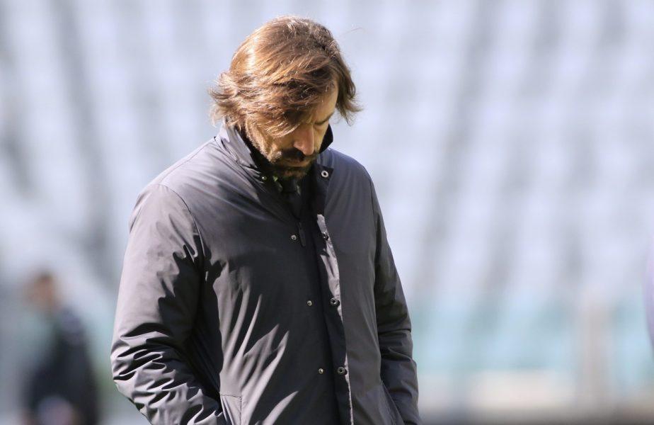 """Andrea Pirlo, pe făraş la Juventus! Meciul cu Napoli, decisiv pentru antrenorul """"Bătrânei Doamne"""". Cele cinci nume uriaşe care îi pot lua locul"""