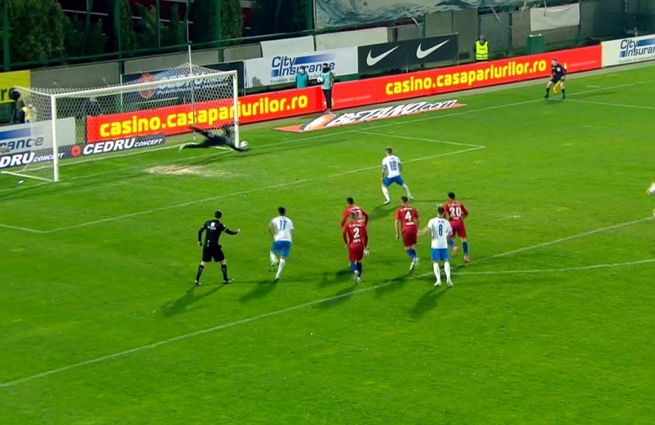 Andrei Vlad, eroul roş-albaştrilor! Portarul FCSB, parade senzaţionale în derby-ul cu Universitatea Craiova. A scos chiar şi un penalty