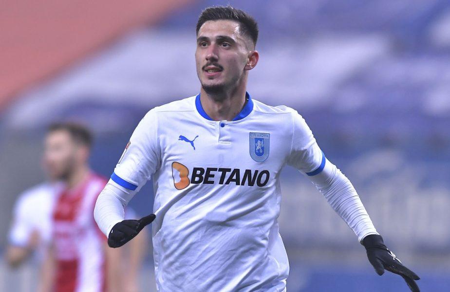 """Andrei Ivan a ratat din toate poziţiile cu FCSB. Explicaţiile atacantului Craiovei: """"N-am avut noroc, ne gândim deja la meciul cu CFR Cluj!"""""""