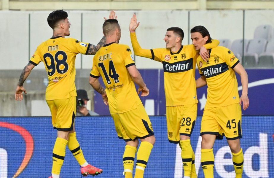 """Dennis Man şi Valentin Mihăilă, """"rezervele de aur"""" de la Parma! Ce scriu italienii despre interesul granzilor din Serie A pentru cei doi internaţionali români"""