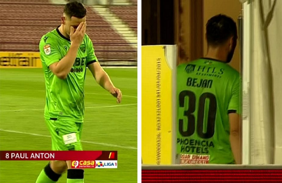 """Au """"muşcat"""" mai mult decât trebuia! Paul Anton şi Florin Bejan, eliminaţi în prima repriză a meciului cu CFR Cluj"""
