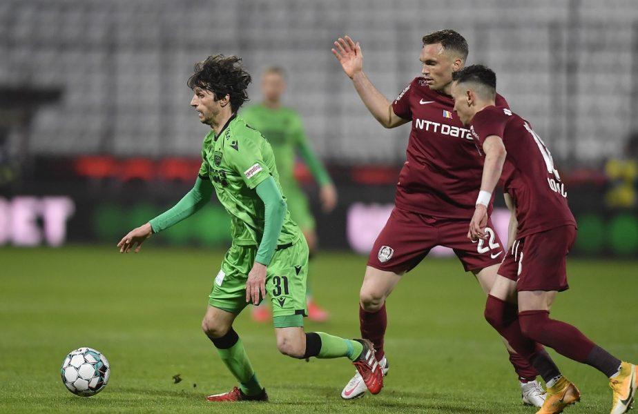 """CFR Cluj, pierderi uriaşe pentru derby-ul cu Universitatea Craiova. """"Trebuie să ai bun simţ!"""". Edi Iordănescu, motive de îngrijorare"""