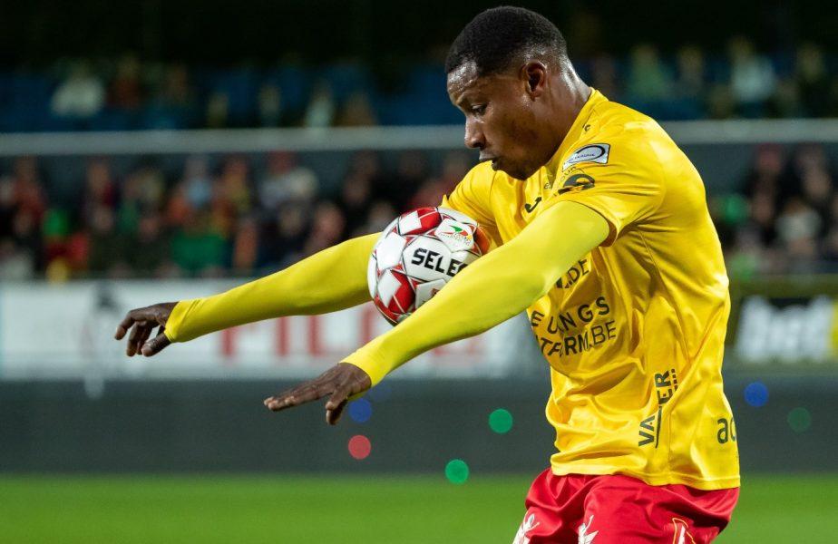 Dinamo îşi betonează atacul! Nigerianul cu peste 100 de goluri în Belgia vine să rupă plasele în Liga 1