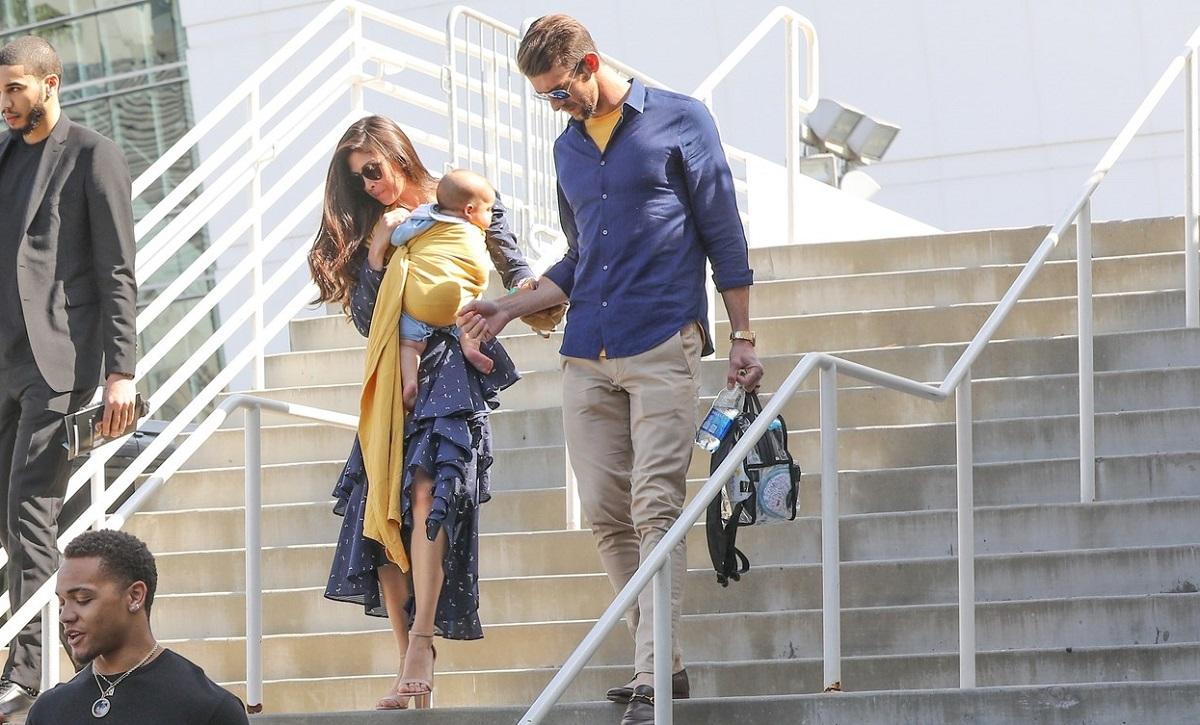 Michael Phelps, alături de soţia lui