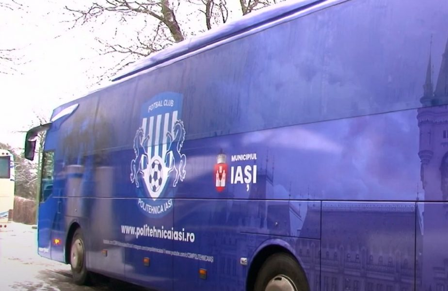 """""""Război"""" total la Poli Iaşi! Ultima clasată din Liga 1 a rămas fără autocar. Anunţul îngrijorător făcut de fostul preşedinte al moldovenilor"""