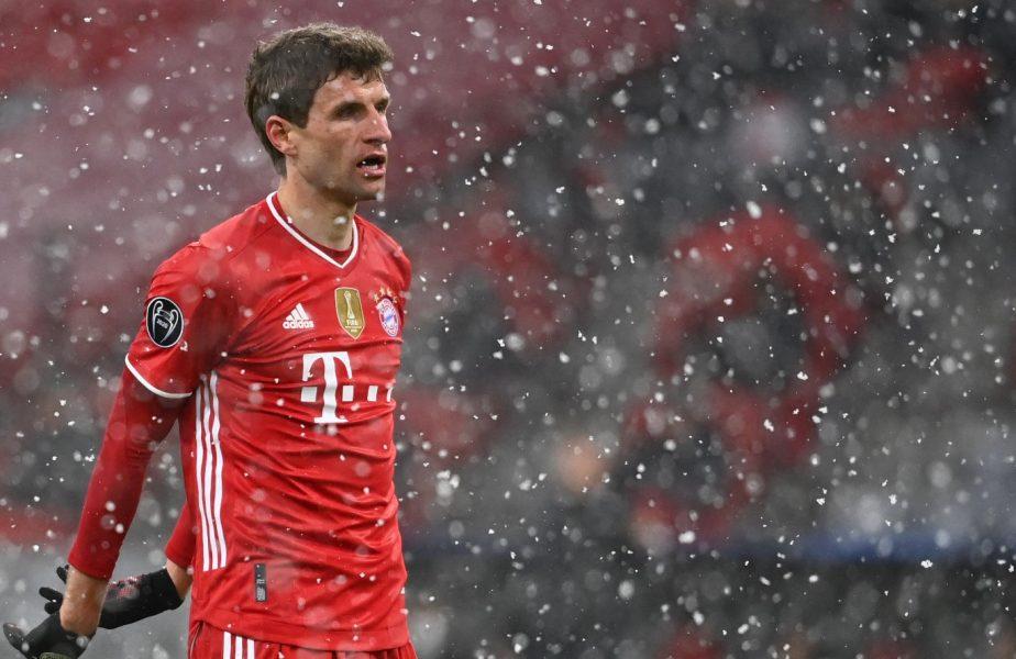 Bayern Munchen – PSG 2-3 | Thomas Muller, declaraţia serii: Nu existau plângeri dacă băteam cu 6-3