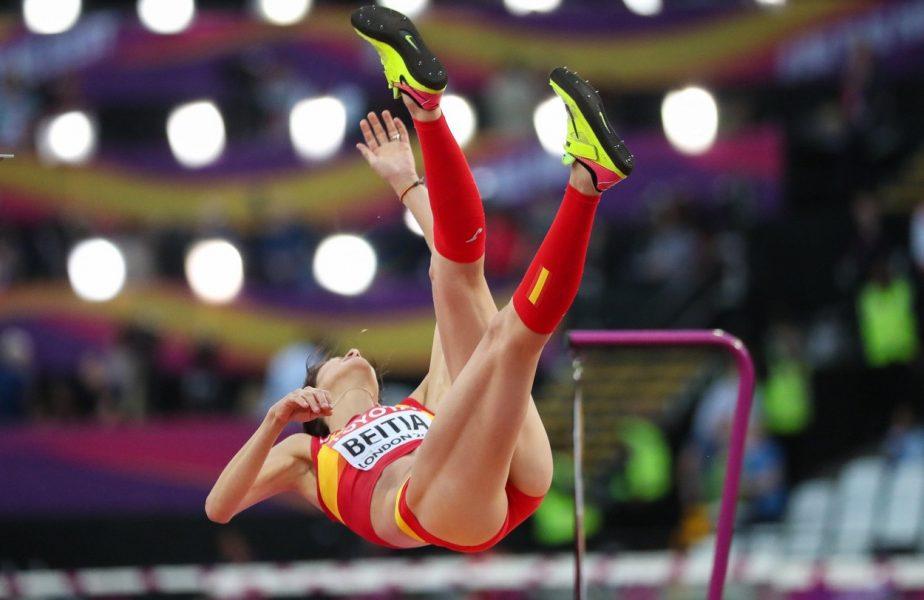 I-au dat acum medalia olimpică de la Londra, din 2012! Între timp, Ruth Beitia s-a retras!