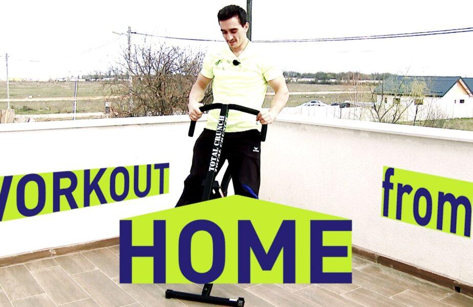 WorkOut from Home, pentru cei care stau acasă, dar nu stau acasă. S-a ales ultimul câştigător! Intră aici ca să vezi dacă ai câştigat