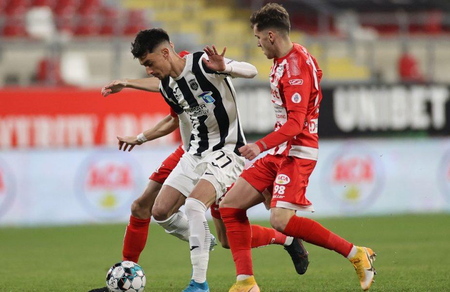 Astra – UTA Arad 0-0. Giurgiuvenii au ajuns la 10 meciuri fără înfrângere. Ambele echipe vor juca în play-out