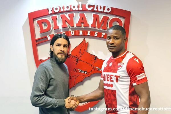 """Cornel Dinu, discurs manifest la adresa lui Akpala, noul atacant al lui Dinamo: """"Alpaca ăsta are 15 kilograme în plus și 15 ani peste vârsta declarată"""""""