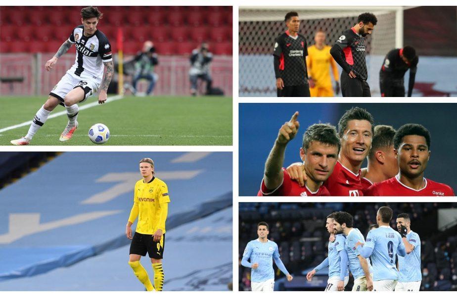 """Parma – AC Milan 1-3. Dennis Man s-a distrat cu Ibrahimovic. Manchester City – Leeds 1-2. """"Cetăţenii"""" s-au făcut de ruşine cu Leeds. Liverpool – Aston Villa 2-1. Victorie dramatică a """"cormoranilor"""""""